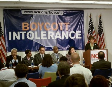 Boycott Intolerance Press Conference
